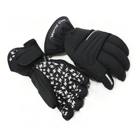 Lyžiarske rukavice BLIZZARD-World Cup ski gloves, black,