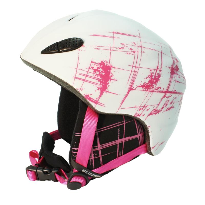 11c68f9d5 BLIZZARD-1K STROKE ski helmet, white/magenta matt, | EXIsport Eshop