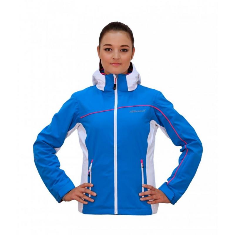 1874d372a Dámska lyžiarska bunda BLIZZARD Viva Power Jacket l.blue/white/pink