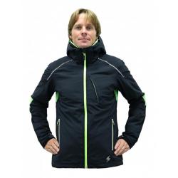 BLIZZARD Mens Race Ski Jacket black/lime green