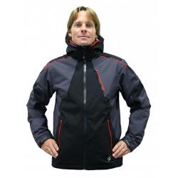 Pánska lyžiarska bunda BLIZZARD Power Ski Jacket black/anthracite/red