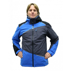 Pánska lyžiarska bunda BLIZZARD Performance Ski Jacket anthracite/black/blue
