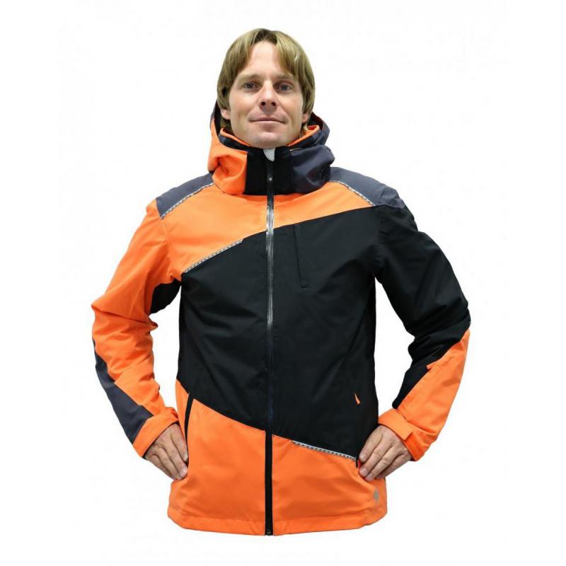 4055468f9 Pánska lyžiarska bunda BLIZZARD Performance Ski Jacket  black/anthracite/orange -