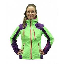 Dámska lyžiarska bunda BLIZZARD Viva Power Ski Jacket purple/lime green/grenadin