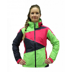 Dámska lyžiarska bunda BLIZZARD Viva Performance Ski Jacket grenad./anthr./lime