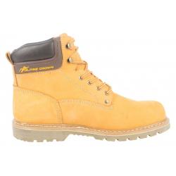 Pánska zimná obuv stredná ALPINE CROWN BACKSTREET STYLE - L.Brown