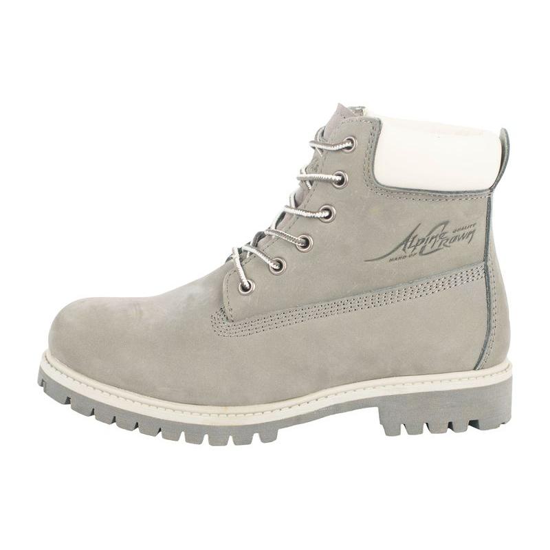 ef4600759984b Dámska zimná obuv stredná ALPINE CROWN BROADWAY- Grey -