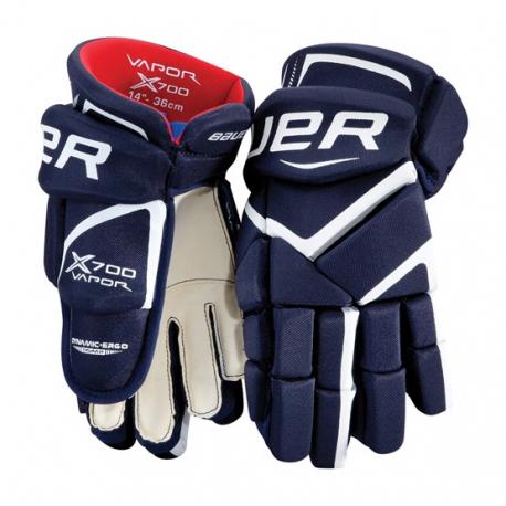 Juniorské hokejové rukavice BAUER-VAPOR X700 rukavice JR - Juniorské  hokejové rukavice značky Bauer určené 1b5f8dedff
