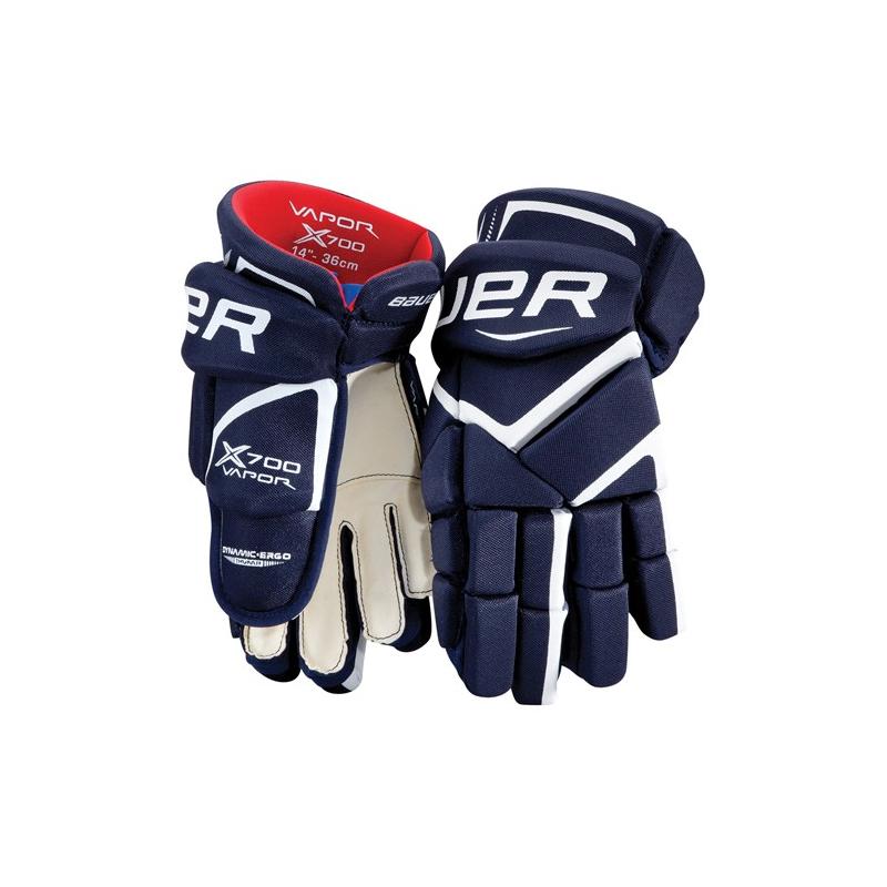 Juniorské hokejové rukavice BAUER-VAPOR X700 rukavice JR - Juniorské  hokejové rukavice značky Bauer určené. Loading zoom 324d824b7a