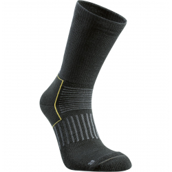Športové ponožky SEGER Cross Country Mid BLACK