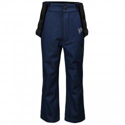 Detské lyžiarske softshellové nohavice AUTHORITY-NESSEN B blue