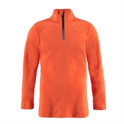 Pánska lyžiarska flisová mikina BRUNOTTI-Tenno Men Fleece orange
