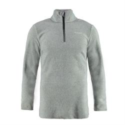 Pánska lyžiarska flisová mikina BRUNOTTI-Tenno Men Fleece grey