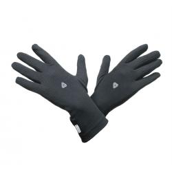 Pánske bežecké rukavice THERMOWAVE-RUNNING GLOVES BLACK