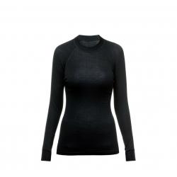 Dámske termo tričko s dlhým rukávom THERMOWAVE-Womens Long sleeve shirt MERINO black