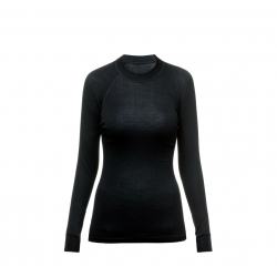 Termo tričko s dlhým rukávom THERMOWAVE-Womens Long sleeve shirt MERINO black