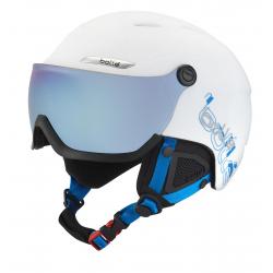 BOLLE B-YOND VISOR / WHITE & BLUE WITH 1 GREY BLUE VISO