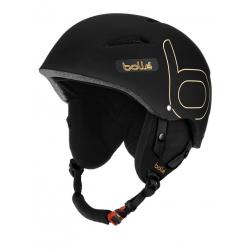 BOLLE B-STYLE / SOFT BLACK & GOLD 54-58cm