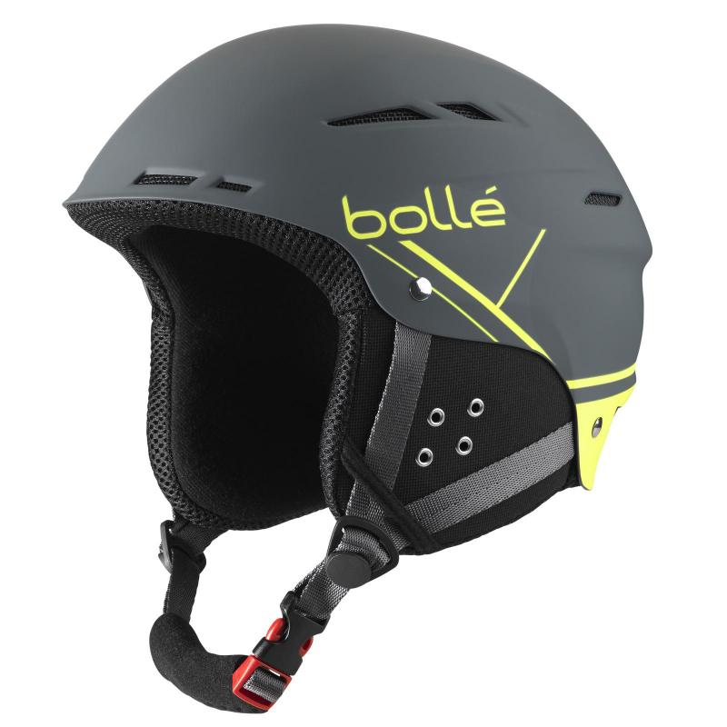 Lyžiarska prilba BOLLE B-FUN   SOFT GREY   YELLOW - Prilba značky Bolle  kombinuje 588994ae84e