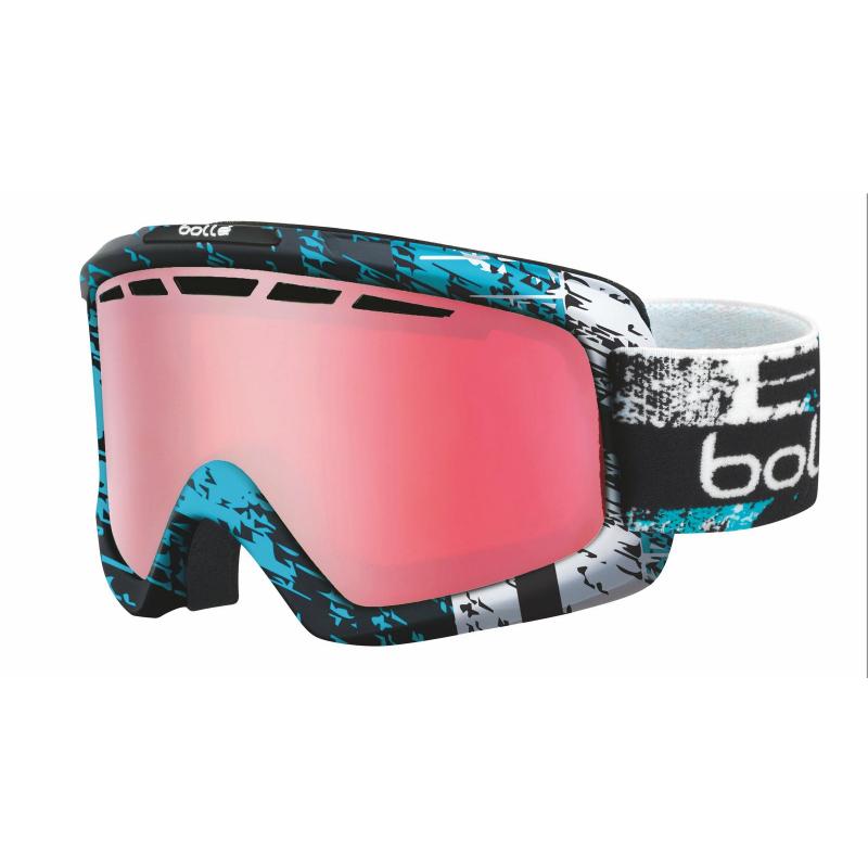 Lyžiarske okuliare BOLLE NOVA II   MATTE BLACK   BLUE ZENITH   VERMILLON - e54cecbb995
