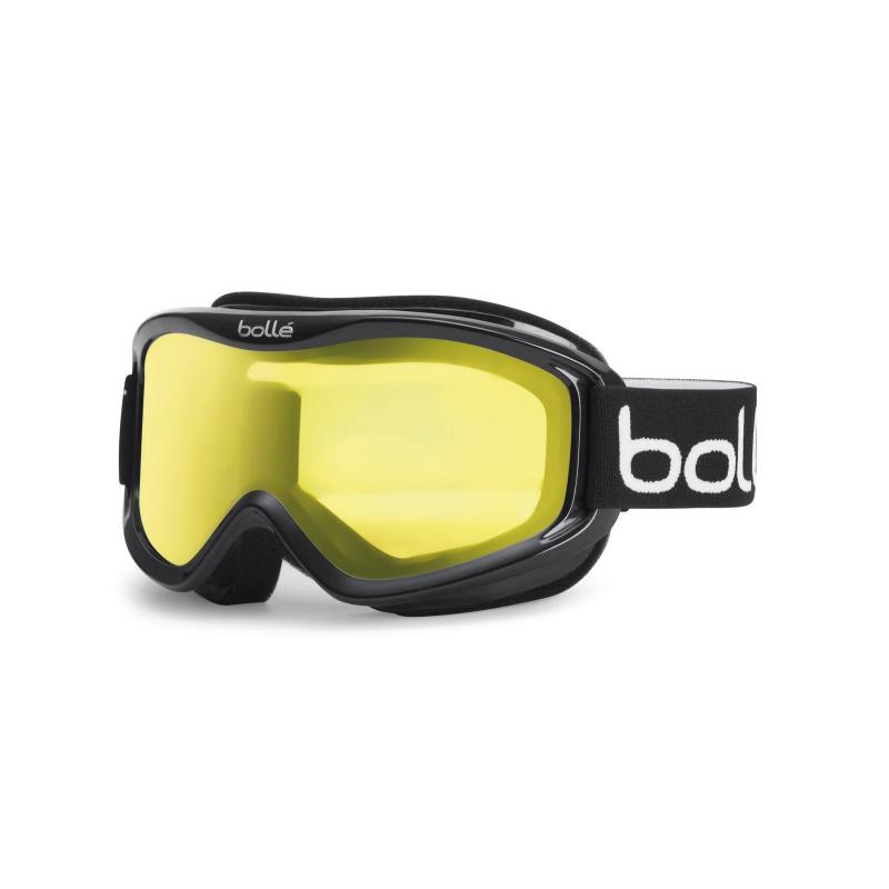 a9d8d9f7e Lyžiarske okuliare BOLLE MOJO / SHINY BLACK / LEMON - Univerzálne štýlové lyžiarske  okuliare.