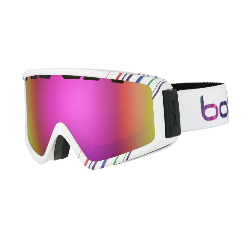 Lyžiarske okuliare BOLLE Z5 OTG   SHINY WHITE   PINK   ROSE GOLD -  Univerzálne štýlové 3081bf5b7f9