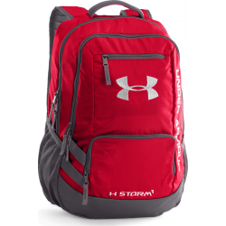 UNDER ARMOUR-Hustle Backpack II RED
