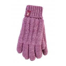 HEAT HOLDERS-Dámske rukavice Pink