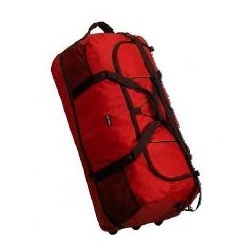 Taška na kolieskach NEW REBELS Rol-able trolley red