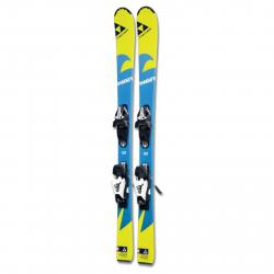 Detské carvingové lyže FISCHER-RANGER KID SLR2 + FJ4 SLR - 9002972138690