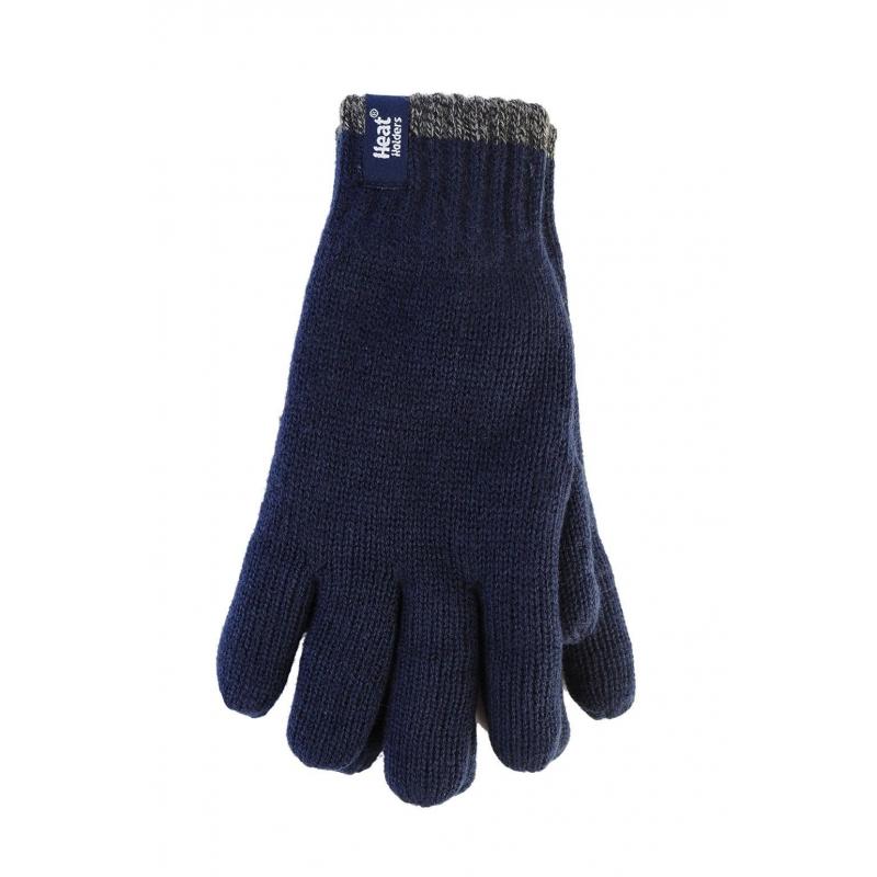 ec81530e3 HEAT HOLDERS-Pánske rukavice kontrastné Blue - Pánske rukavice značky Heat  Holders s teplou podšívkou