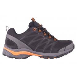 Turistická obuv nízka ALPINE CROWN SALAMANDER Black/Orange