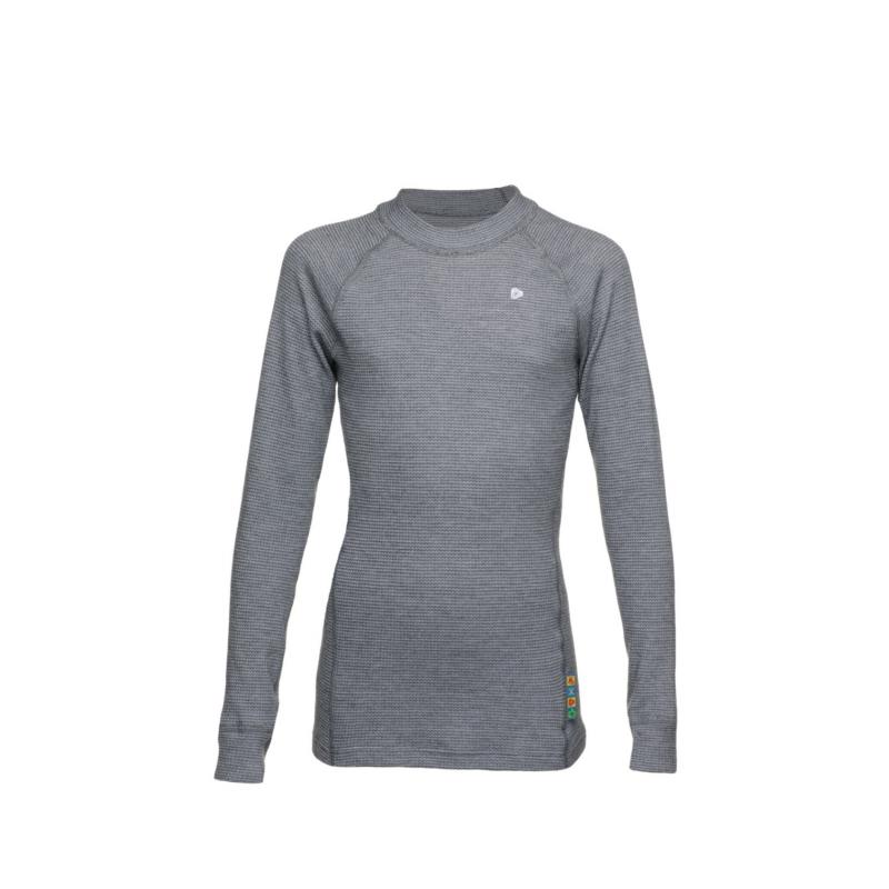 21391dd89dfef THERMOWAVE-Kids long sleeve shirts grey - Detské tričko s dlhým rukávom  značky Thermowave je. Loading zoom