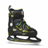 FILA SKATES-X-ONE ICE BLK/YELLOW/BLUE 16