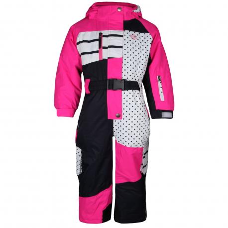 AUTHORITY-OWEA pink - Detský zimný overal značky Authority v zaujímavom dizajne.