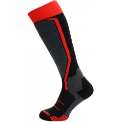 BLIZZARD-1K Allround ski socks black/anthracite/red