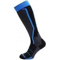 BLIZZARD-1K Allround ski socks, black/anthracite/blue,