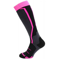 BLIZZARD-1K Viva Allround ski socks black/anthracite/magenta