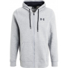UNDER ARMOUR-Storm Rival Cotton Full Zip grey