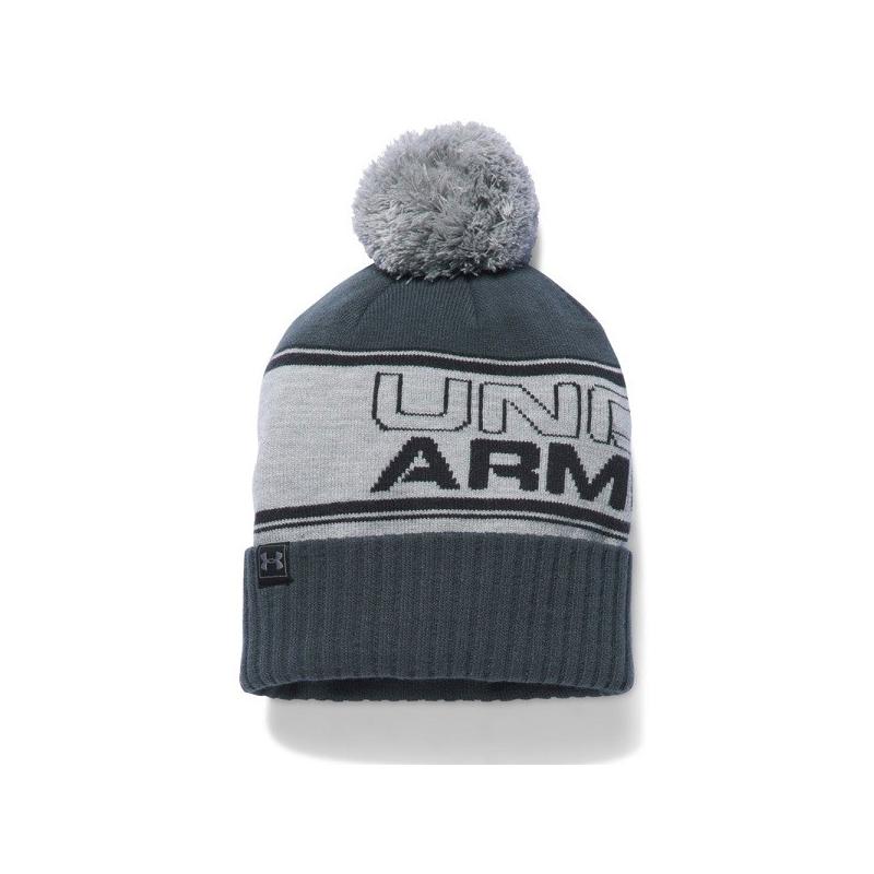 bb11c4bbb UNDER ARMOUR-Mens Pom Beanie - Pánska čiapka značky Under Armour, ktorú  zdobí brmbolec