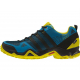 ADIDAS-AX2 GTX UNIBLU/CBLACK/UNILIM - Pánska nízka outdoorová obuv značky adidas je pripravená na rýchlu turistiku i multifunkčné využitie.