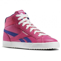 REEBOK-REEBOK ROYAL COMP 2 ROSE/PURPLE/CHALK