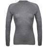THERMOWAVE-Womens Long sleeve shirt MERINO grey