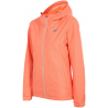 4F-LADIES JACKET KUD002-SALMON CORAL SS17