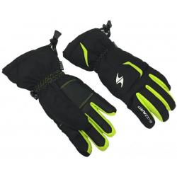 BLIZZARD Rider junior ski gloves, black/green