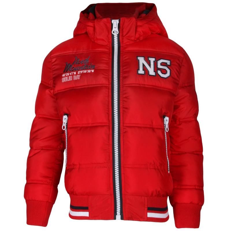 AUTHORITY-REGEOR red - Pánska štýlová bunda značky Authority v trendy dizajne.