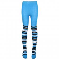 AUTHORITY-boy pantyhose striped blue aw16
