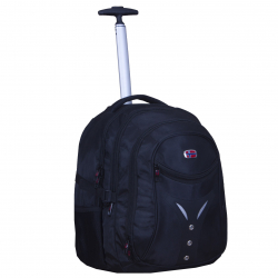 "NEW REBELS ""Cross"" 1680D trolley backpack 35x30x45cm"