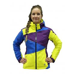 BLIZZARD Viva Performance Ski Jacket purple/blue/yellow