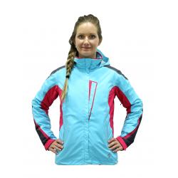 Dámska lyžiarska bunda BLIZZARD-Viva Allround Ski Jacket anthr./light blue/grenadine